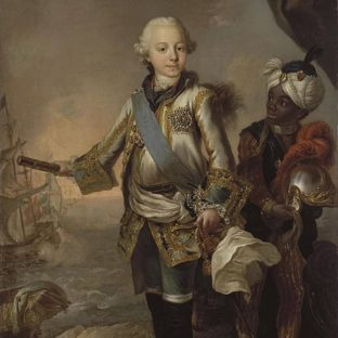 Портрет великого князя Павла Петровича, Стефано Торелли