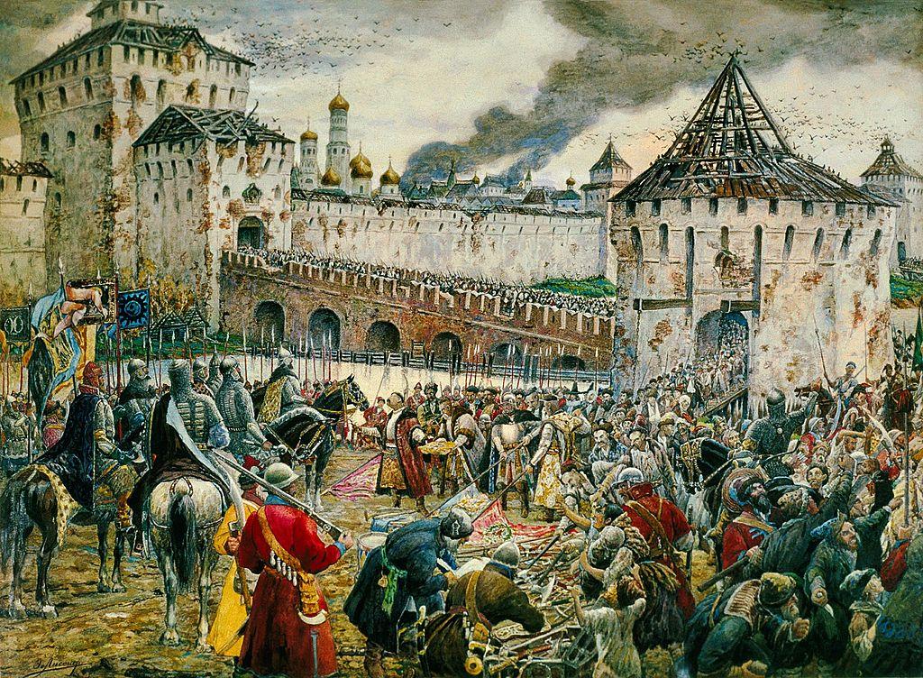 Изгнание поляков из Кремля Пожарским, Эрнест Лисснер