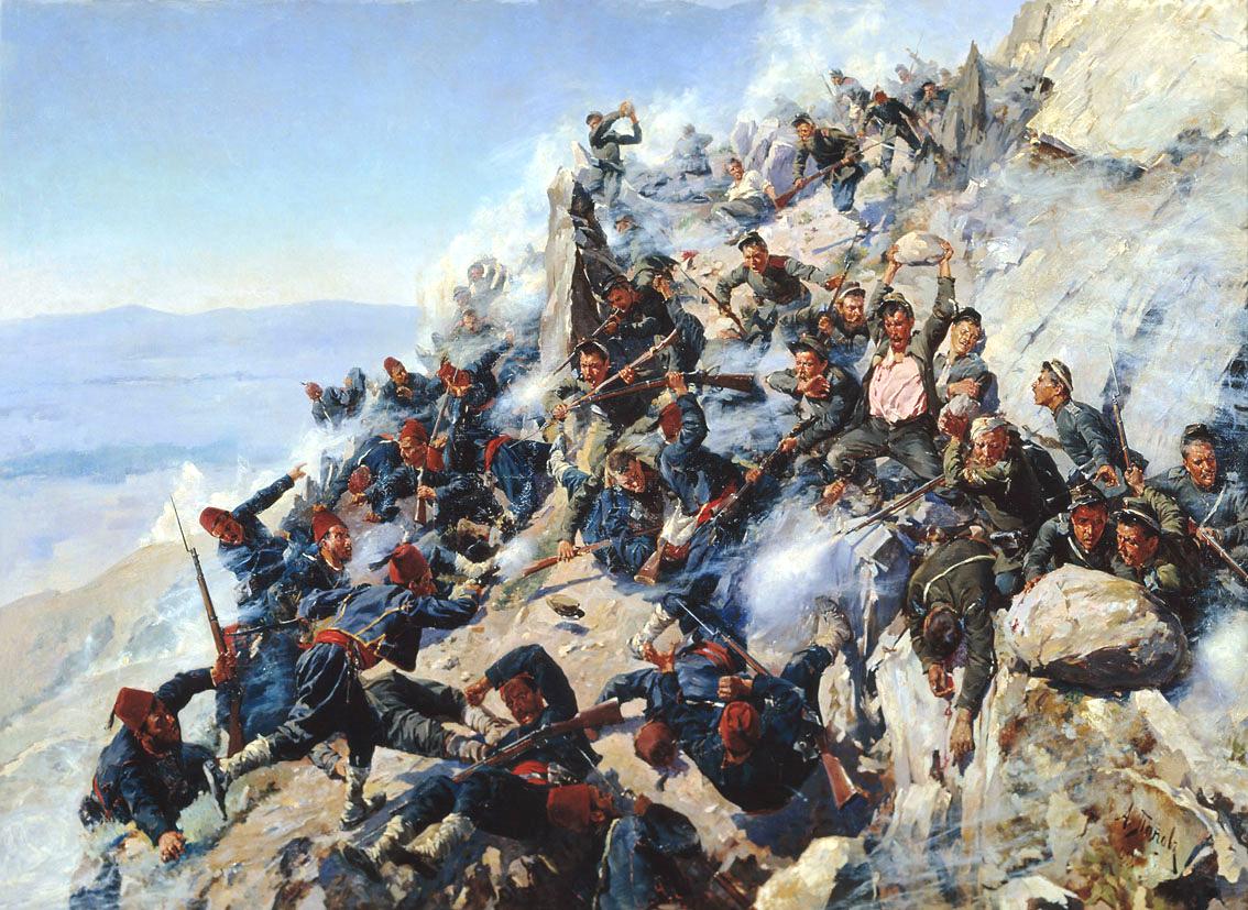 Защита «Орлиного гнезда» орловцами и брянцами 12 августа 1877 года, А. Попов