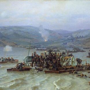 Переправа русской армии через Дунай у Зимницы 15 июня 1877 года, Н. Д. Дмитриев-Оренбургский