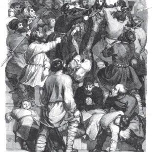 Убийство архиепископа Амвросия, Шарль Мишель Жоффруа