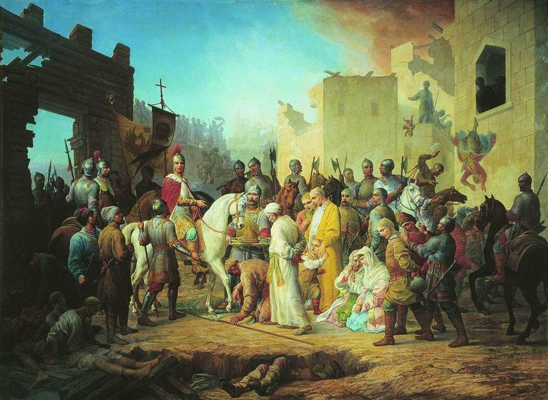 Вступление Иоанна IV в Казань, Петр Михайлович Шамшин