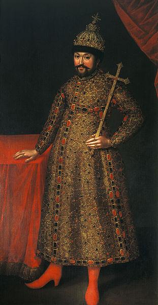 Портрет царя Михаила Федоровича, Иоанн Генрих Ведекинд