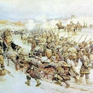 Восстание Ивана Болотникова, художник Эрнест Лисснер