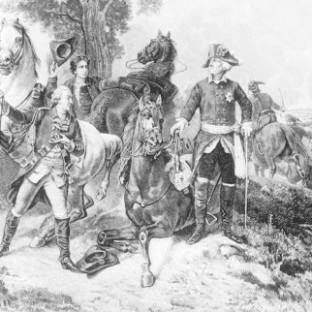 Фридрих II отказывается бежать, Бирман