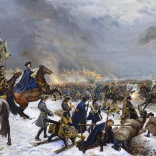 Карл XII под Нарвой, Михаил Юрьевич Шаньков