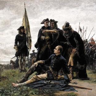 Мазепа и Карл XII после Полтавской битвы, Густав Седерстрем