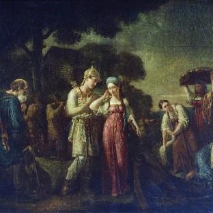 Первая встреча князя Игоря с Ольгой, Василий Кондратьевич Сазонов
