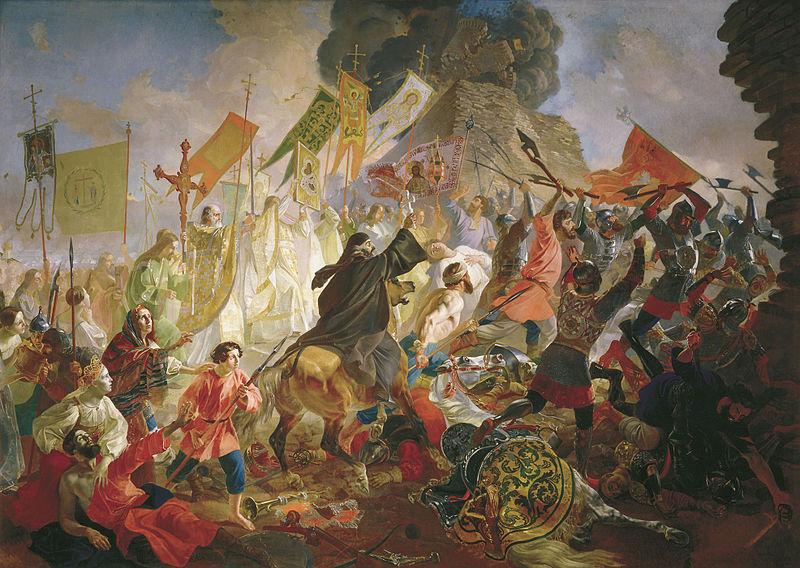Осада Пскова королем Стефаном Баторием в 1581 году, Карл Павлович Брюллов