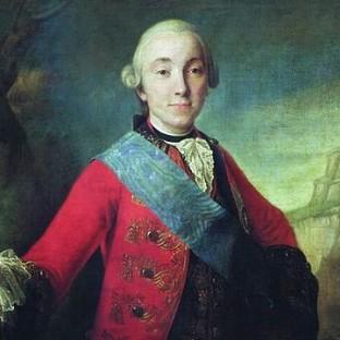 Портрет великого князя Петра Федоровича, Ф. С. Рокотов