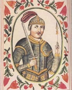Игорь Рюрикович, миниатюра из «Царского титулярника»