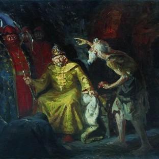 Иоанн Грозный с приближенными, Андрей Петрович Рябушкин