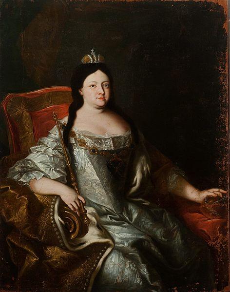 Анна Иоанновна, автор неизвестен