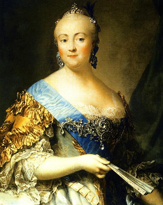 Портрет императрицы Елизаветы Петровны, Виргилиус Эриксен