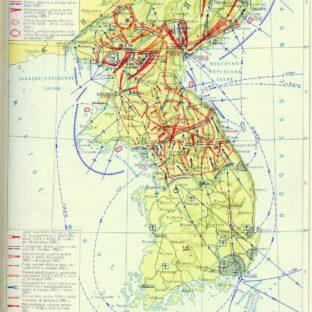Боевые действия 25 октября 1950 — 24 июля 1953 года