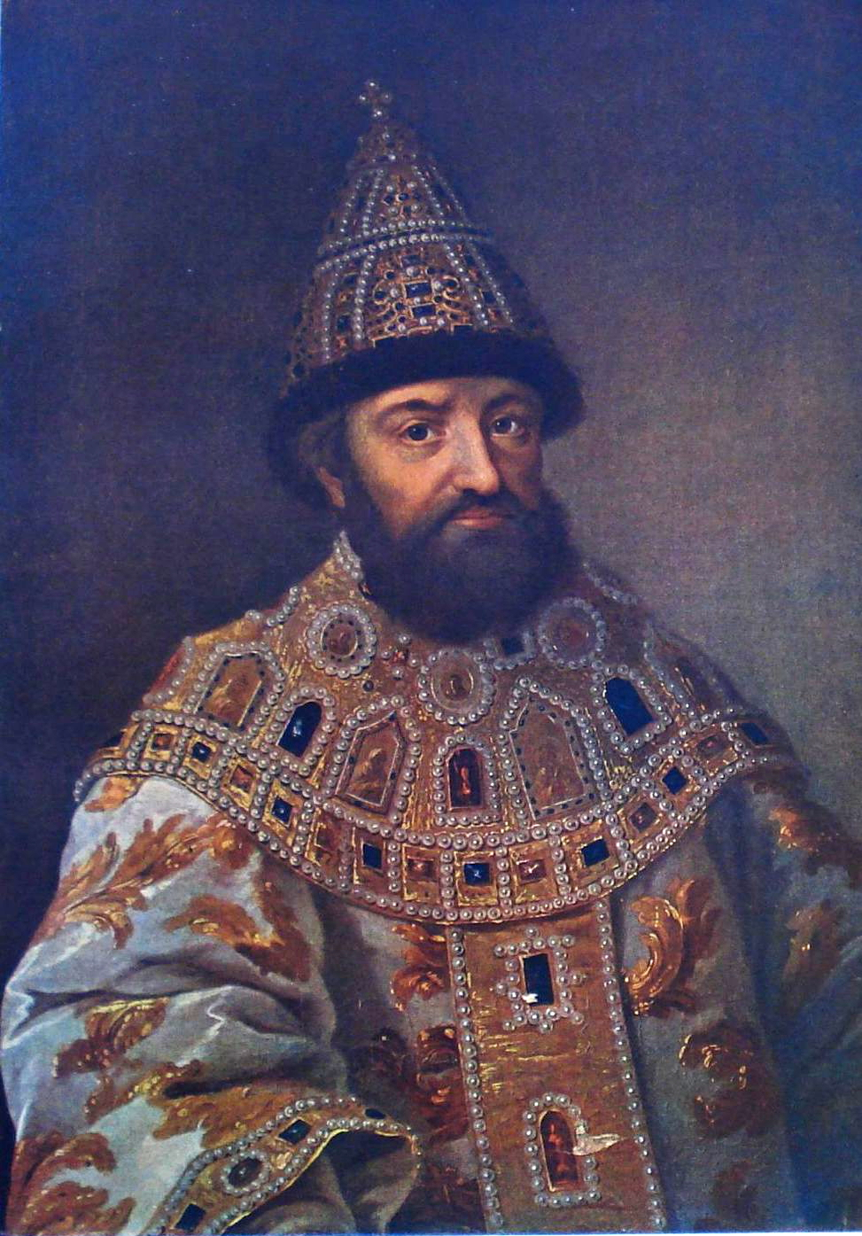 Портрет царя Михаила Федоровича, автор неизвестен