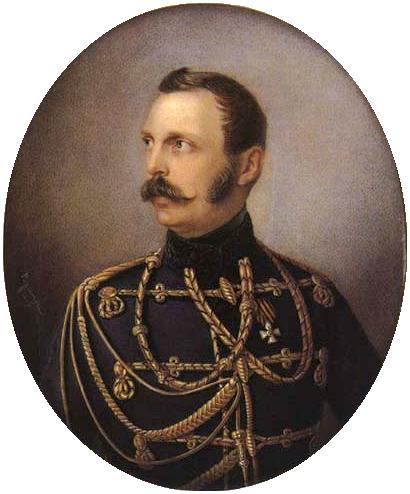 Александр II, Алоиз Густав Рокштуль