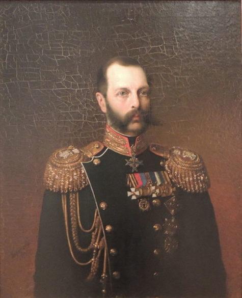 Портрет императора Александра II, Алексей Алексеевич Харламов