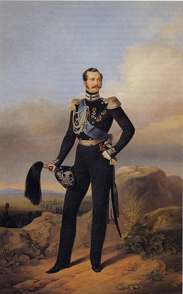 Портрет императора России Александра II, Егор Иванович Ботман