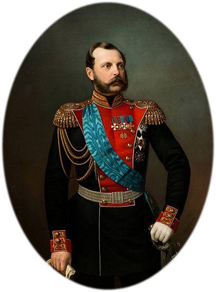Портрет императора Александра II, Иван Алексеевич Тюрин