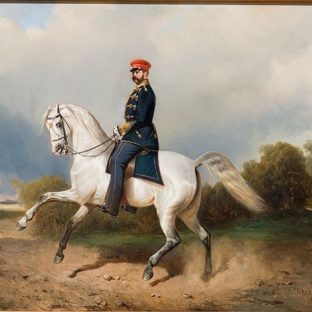Портрет императора Александра II, Николай Егорович Сверчков