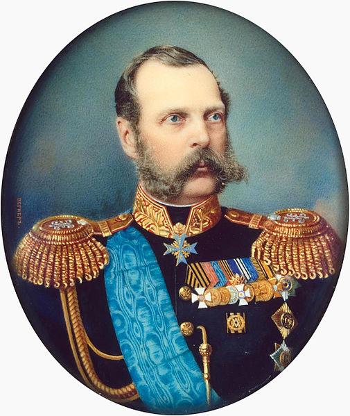Портрет императора Александра II, Александр Матвеевич Вегнер