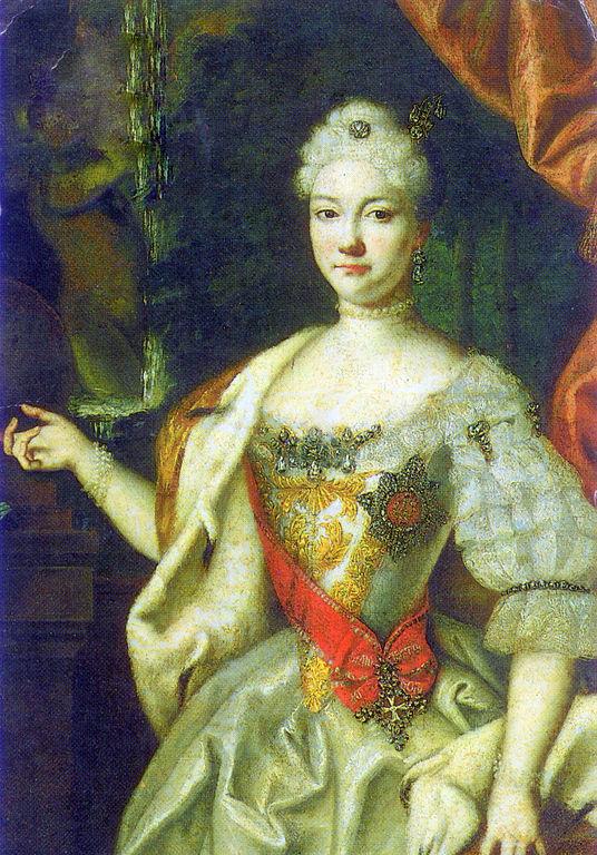 Правительница Анна Леопольдовна (Елизавета Екатерина Кристина Мекленбург-Шверинская), Луи Каравак