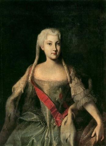 Портрет Анны Леопольдовны, автор неизвествен