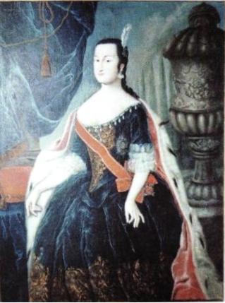Портрет Анны Леопольдовны, автор неизвестен