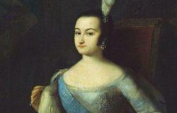 Правительница Анна Леопольдовна, Луи Каравак, миниатюра к картине