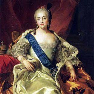 Портрет императрицы Елизаветы Петровны, Шарль-Андре ван Лоо