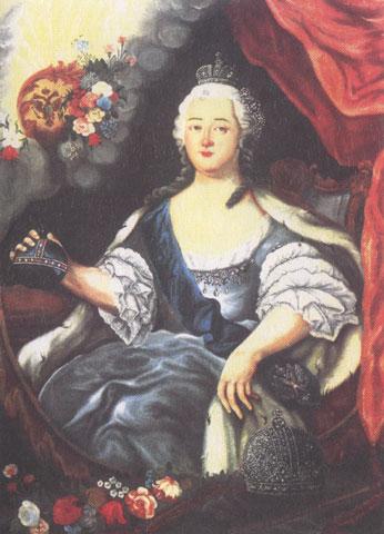Елизавета Петровна, автор неизвестен