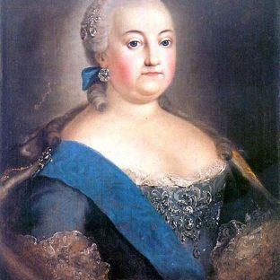 Императрица Елизавета Петровна, автор неизвестен