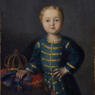 Портрет императора России Ивана VI Антоновича, автор неизвестен