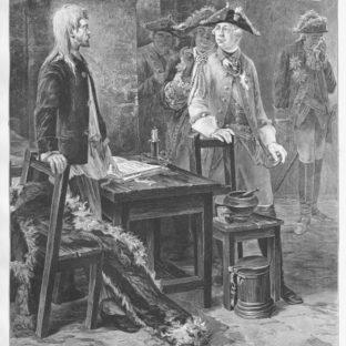 Шлиссельбургский узник (Петр III посещает Иоанна Антоновича в Шлиссельбургской крепости), Федор Емельянович Буров