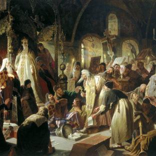 Спор о вере, Василий Григорьевич Перов