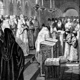 Венчание на царствие Ивана и Петра Алексеевичей, автор неизвестен