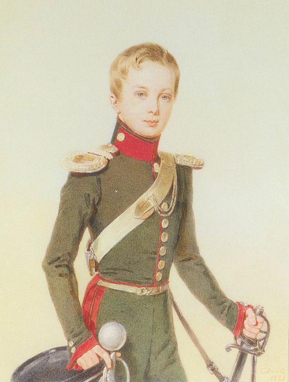Александр II в детстве, Петр Федорович Соколов