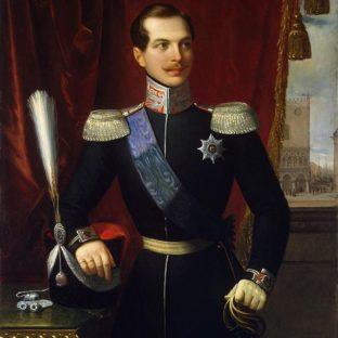 Портрет великого князя Александра Николаевича, Натале Скьявони