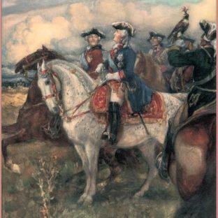Выезд императрицы Екатерины II в мундире конной гвардии на охоту 3 сентября 1767 года, Леонид Осипович Пастернак