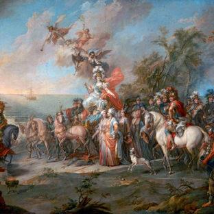 Аллегория на победу Екатерины II над турками и татарами, Стефано Торелли