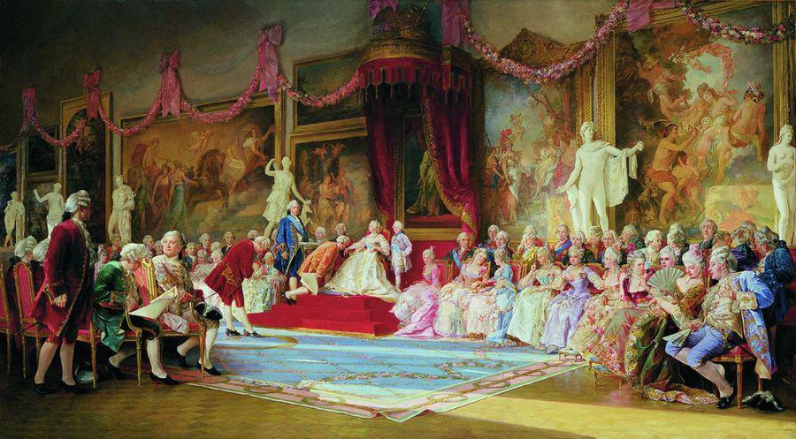 Инаугурация Императорской Академии художеств 7 июля 1765 года, Валерий Иванович Якоби