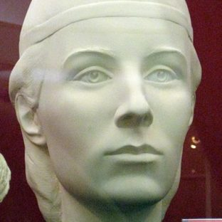 Елена Глинская, реконструкция по черепу, С. А. Никитин
