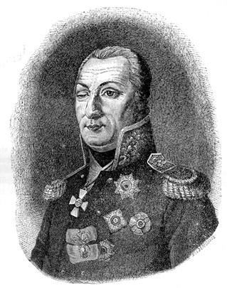 Русский генерал Михаил Илларионович Кутузов, автор неизвестен