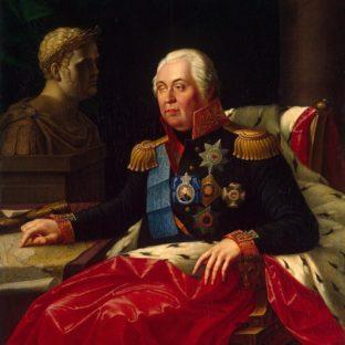Портрет Михаила Кутузова, Иосиф Иванович Олешкевич