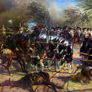 Битва близ Цорндорфа, Войцех Коссак