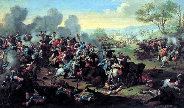 Битва при Колине, автор неизвестен