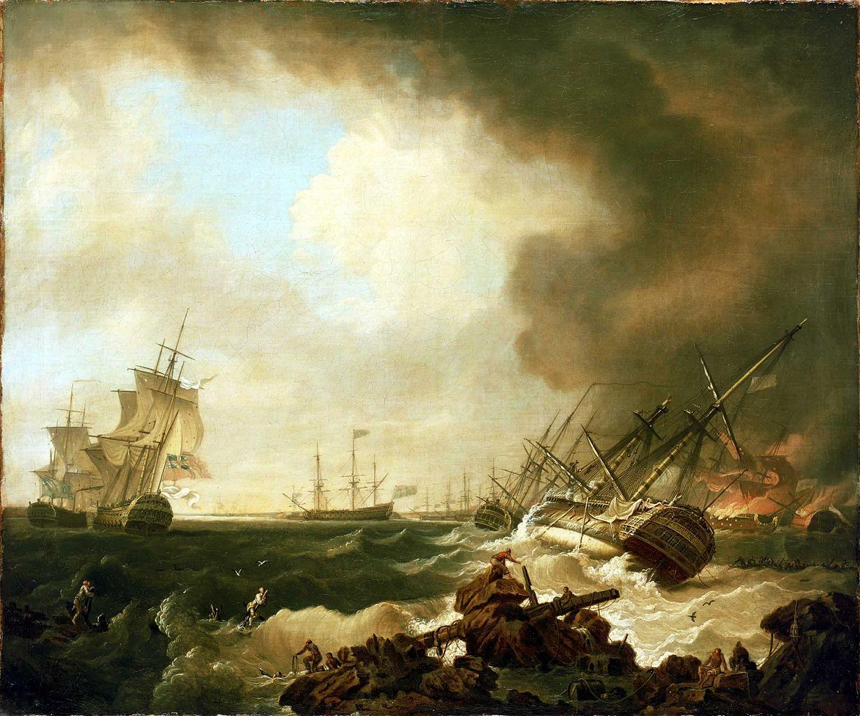 "Битва за бухту Киберон: ""День после"", Ричард Райт"