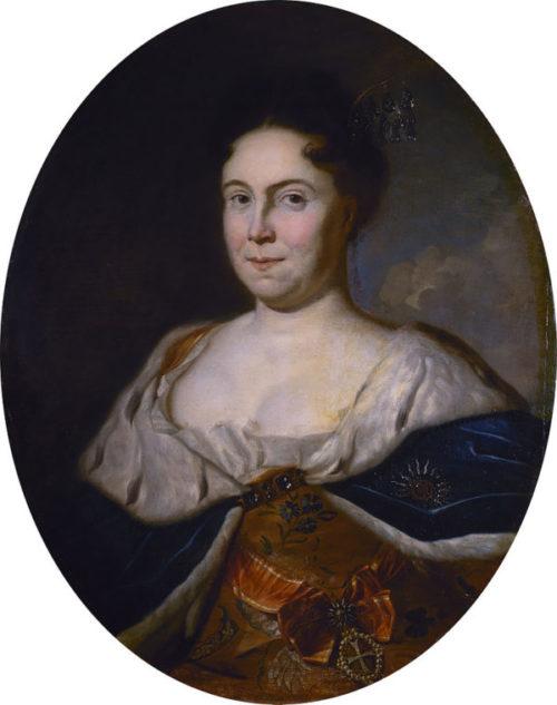 Портрет Екатерины I, Карел де Моор