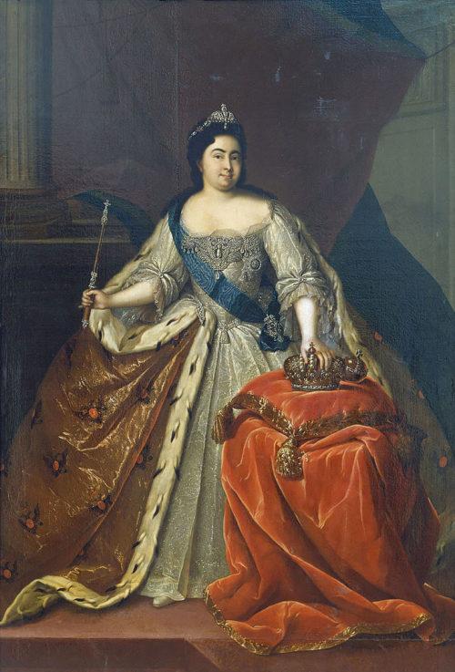Императрица Екатерина I, Генрих Бухгольц